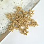 Large Gold Beaded Christmas Tree De..
